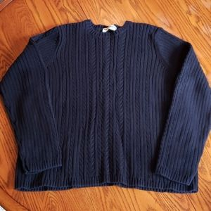 Like New Marsh Landing Cable Sweater